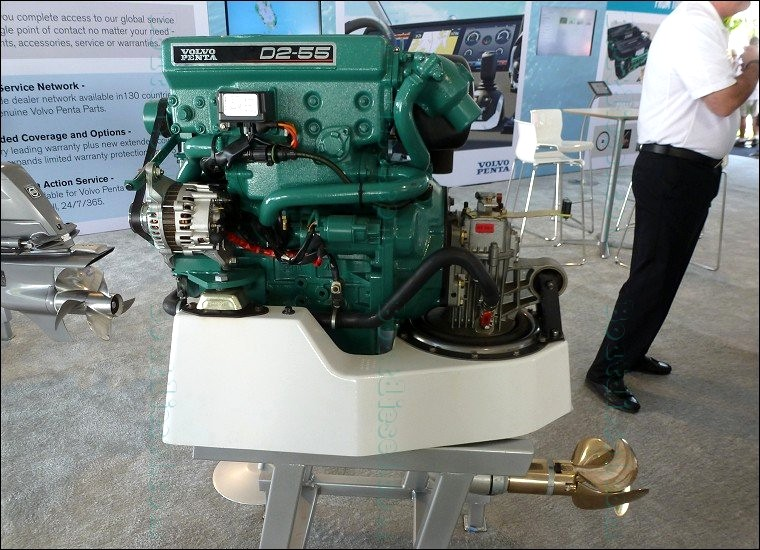 Fort Lauderdale International Boat Show 2014 - Volvo Penta Marine Diesel Engines - Boatdiesel ...