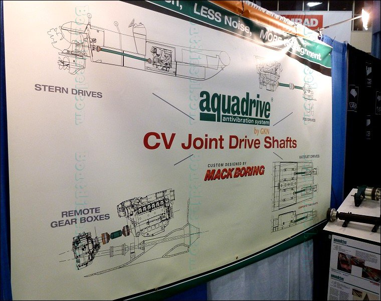 miami international boat show 2015 - drive systems aquadrive - boatdiesel com
