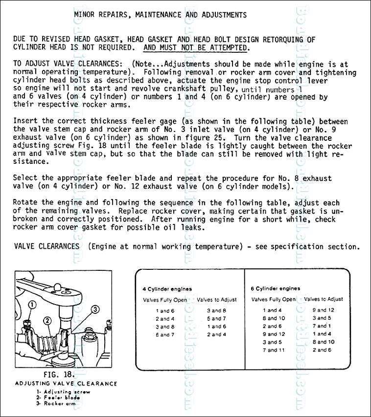 Lehman SP135 Valve Adjustment - Procedure from the Lehman