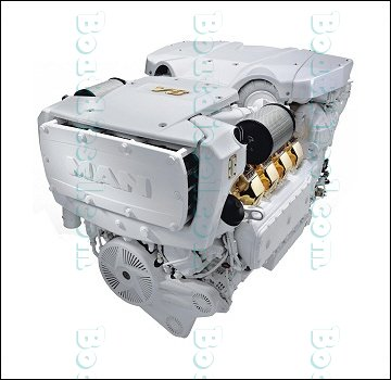 MAN V8 1200 Marine Diesel Propulsion Engine