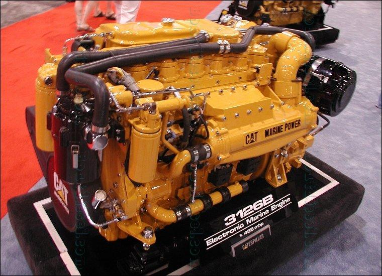 Caterpillar Engine B Mhp Marine Propulsion Miami