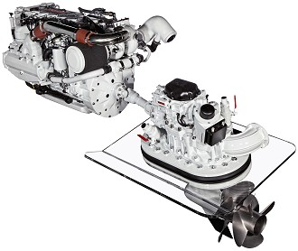 FPT N67 570 Marine Diesel Propulsion Engine - PR FPT present at the