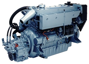 Perkins M135 Marine Diesel Propulsion Engine - PR Perkins