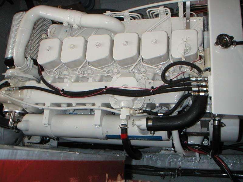 Cummins b series turbo coolant line pipe fitting