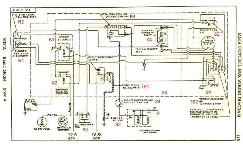 Phasor Marine Generator Wiring Diagram