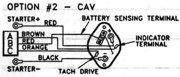 General Diesel:Electrical Systems - Cav Ac5 Alternator Wiring DiagramBoatdiesel.com