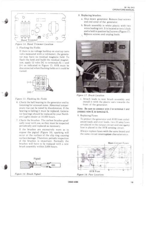 Wiring Diagram 5 Kw Northern Lights - basic electrical ... on