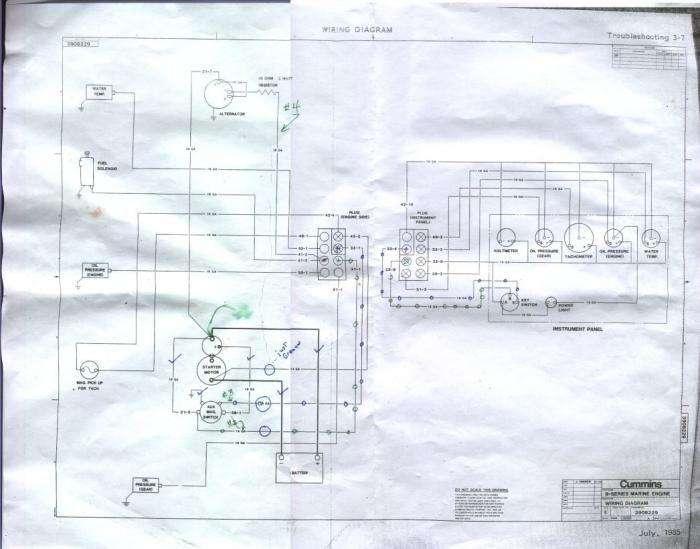 cummins b series old wiring diagram attached. Black Bedroom Furniture Sets. Home Design Ideas