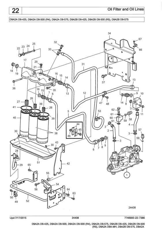 volvo d9 series oil leak underneath heat exchanger on my